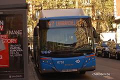 190328  1047 (chausson bs) Tags: emtmadrid madrid autobuses autobusos buses man castrosua 2019