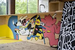 DSC_9038-processed (Chairman Ting) Tags: blog post artinstallation mural chairmanting carsonting characters art illustration muralart saltspringisland customhome nikond600 nikkor50mm documentation