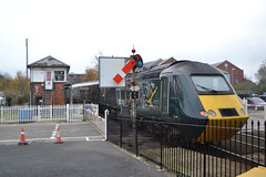 Great Western Railway HST 43188 (Will Swain) Tags: truro station 16th november 2018 gwr first group south west cornwall town train trains rail railway railways transport travel uk britain vehicle vehicles england english europe great western hst 43188 class 43 188