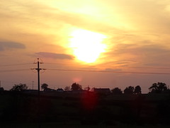 SUNSET OVER THE MADDEN BETWEEN TANDRAGEE  AND GILFORD (Monkiiiey Henry Clark) Tags: sunset over the madden between tandragee and gilford