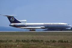 Bashkirskie Avialinii TU-154M RA-85774 GRO 16/07/1996 (jordi757) Tags: airplanes avions nikon f90x kodachrome kodachrome64 gro lege girona costabrava tupolev tu154 bashkirskieavialinii ra85774
