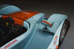Caterham SP300R -  Cockpit (Rick Nunn) Tags: racecar daylight moody orange lowkey blue caterham strobist becauseracecar dark sp300r thetracklife gulf car trackcar uk attack