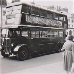 London transport STL1854 driver trainer Chiswick 1954. (Ledlon89) Tags: stl stlbus aecregent aec regent lt lte lptb lonodn bus buses londonbus londonbuses transport 1954