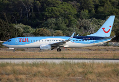 PH-TFC (QC PHOTOGRAPHY) Tags: rhodes diagoras greece tui airlines netherlands b737800wl phtfc