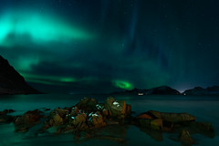 The Bay - Northern Lights - Lofoten (virtualwayfarer) Tags: moskenes nordland norway northernlights aurora lofoten norwegian nordic arcticcircle mountains fjord longexposure nightphotography landscape starphotography astrophotography auroraborealis polarlights astro clearsky peaceful starsstarynight sonyalpha a7rii travel travelphotography travelphotographer adventure adventurephotography northernlatitude roadtrip indietravel wild explore exploring dramaticnature aweinspiring weather calm dancinglight kp3 arctic arcticphotography march snow snowy cold magnetosphere scandinavian mirror reflectionnight moskenesmunicipality nordlandcounty mountain valley sea seaside solarstorm dramatic dramaticlight singleshot alexberger bay seascape ocean arcticsea ytresand sandbotnen