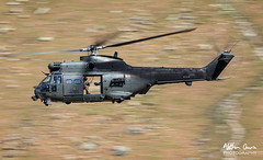 RAF Aerospatiale Puma XW231 HC2 low level at Thirlmere (NDSD) Tags: low level aerospatiale puma hc2 dunmail raise thirlmere cumbria flying jet raf lake district helicopter rotary aviation military
