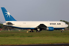OY-SRG (GH@BHD) Tags: oysrg boeing 767 762 b767 b762 starair aircraft aviation airliner freighter cargo bfs egaa aldergrove belfastinternationalairport