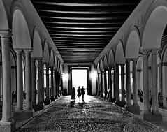 Sevilla, Alcázar (gerard eder) Tags: world travel reise viajes europa europe españa spain spanien sevilla architecture arquitectura architektur städte street stadtlandschaft streetlife streetart city ciudades cityscape cityview alcazar alcázar blackandwhite blackwhite blancoynegro whiteblack whiteandblack monochrome urban urbanlife urbanview