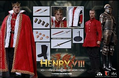COOMODEL 20190516 CM-SE046 Henry VIII (Red Dragon Ver) - 06 (Lord Dragon 龍王爺) Tags: 16scale 12inscale onesixthscale actionfigure doll hot toys coomodel