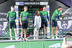 Tour Series Aberdeen 2019 on the podium (16) (Royan@Flickr) Tags: tour series aberdeen 2019 podium bicycle race scotland uk cycling lycra shorts teams sport ovo energy