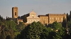 San Miniato al Monte, Florence (Elizabeth Almlie) Tags: abbazia sanminiatoalmonte sanminiato church abbey monastery marble sunset florence oltrarno