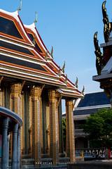 Phra Vihara, Wat Ratchabophit (aey.somsawat) Tags: architecture bangkok buddhisttemple temple thaiarchitecture thailand vihara wat watratchabophit
