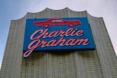 Charlie Graham, Omaha, NE (Robby Virus) Tags: omaha nebraska ne charlie graham neon sign signage car auto body automobile repair paint