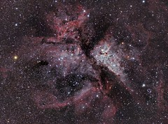 Carina Nebula (danielellerton) Tags: astrophotography astronomy deep sky telescope olympus omd space carina nebula pixinsight williams optics