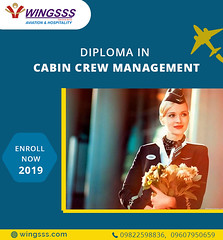 Diploma in Cabin Crew Management (Wingsss Aviation) Tags: cabincrew airportservice airline management aviation