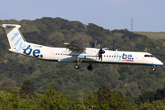 G-FLBB_12 (GH@BHD) Tags: gflbb bombardier dhc dhc8 dhc8402q dasheight be bee flybe turboprop aircraft aviation airliner dehavilland