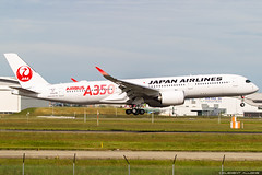 Japan Airlines  Airbus A350-941 cn 321 F-WZHF // JA01XJ (Clément Alloing - CAphotography) Tags: japan airlines airbus a350941 cn 321 fwzhf ja01xj toulouse airport aeroport airplane aircraft flight test canon 100400 spotting tls lfbo aeropuerto blagnac airways aeroplane engine sky ground take off landing 1d mark iv avgeek avgeeks planespotter spotter news aviation daily insta avnerd planeporn