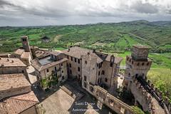 Mastio di Vigoleno (Anteriorechiuso Santi Diego) Tags: vigoleno antico medioevo