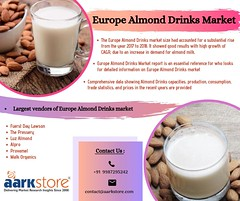 Europe Almond Drinks Market Reports and Forecast to 2024 _ Aarkstore.com (charanjitaark) Tags: europealmonddrinksmarket almonddrinksmarket almonddrinkmarketsize europealmonddrinkmarket2025 agricultureandfoodmarket
