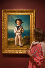 Sue and Albert Edward, Prince of Wales, Compton Verney (Peter Cook UK) Tags: exhibition 1846 compton winterhalter warwickshire edward gallery wales prince albert art painting franz verney xaver childhood