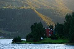 20180819-Canon EOS 6D-3324 (Bartek Rozanski) Tags: fagarnes oppland norway valdres valley lake farm red norwegian norge noreg aurdal