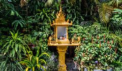 2019 - Cambodia - Sihanoukville - Ochheuteal Beach - 1 of 5 (Ted's photos - Returns late November) Tags: 2019 cambodia cropped nikon nikond750 nikonfx tedmcgrath tedsphotos vignetting sihanoukville sihanoukvillecambodia shrine