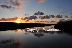 Northern reflections (powerfocusfotografie) Tags: noordpolderzijl water harbour waddensea backlight silhouette dusk action running sun sunset evening outdoors landscape groningen holland henk nikond90 powerfocusfotografie