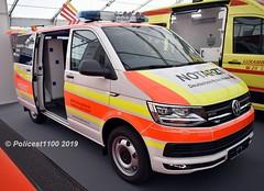 DRK Heilbroon VW Transporter NOTARZT (policest1100) Tags: heilbroon drk notarzt vw transporter