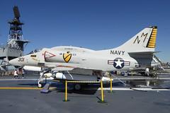154977 / NM-301 Douglas A-4F Skyhawk cn 13793 US Navy. USS Midway - San Diego 22Feb19 (kerrydavidtaylor) Tags: usn unitedstatesnavy a4