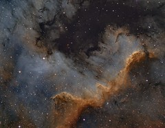 Cygnus Wall (Spacesimon1980) Tags: northamericanebula narrowband nightsky longexposurephotography astrophotography astrophoto ngc nebula ngc7000 cygnuswall
