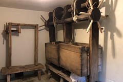 20190501 0006a Cheese Press in Dairy Llanerchaeron near Aberaeron Ceredigion SA48 8DG Mid Wales (rodtuk) Tags: 4star building buildings cameramodel canon5div flipublic flickr food household misc nt phototype rating rodt roderict roderickt statelyhome wip iphone8