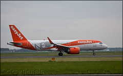 G-UZHA Airbus A320-251N Easyjet (elevationair ✈) Tags: eham ams netherlands holland europe dull cloudy overcast avgeek avaition airplane plane aircraft arrival landing airbus a320 neo newengineoption airbusa320251n guzha a320neo