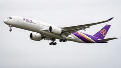 Airbus A350-941 HS-THH Thai Airways International (William Musculus) Tags: frankfurt am main rhein frankfurtmain fraport eddf fra airport spotting aviation plane airplane william musculus hsthh thai airways international airbus a350941 tha tg a350 a350xwb xwb a350900xwb a350900
