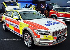 Volvo V90 Medical RRV Demonstrator (policest1100) Tags: volvo v90 medical demonstrator