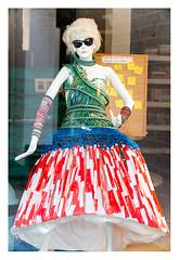 Clad in plastic (leo.roos) Tags: lens manikin dummy doll pop mannequin etalagepop paspop sunglasses zonnebril straatkunst plastic streetart kijkduin winkelcentrum shoppingmall shoppingcentre sloop demolition thsa thehaguestreetart a7rii jml54inchf45copylens jml13745 darosa leoroos