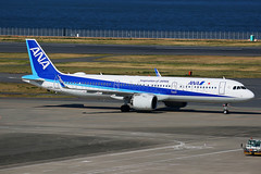 ANA Airbus A321-271N JA135A (Mark Harris photography) Tags: spotting hnd plane airbus a321 ana canon 5d