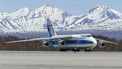 RA-82044 Volga-Dnepr Antonov An-124-100 (Zhuravlev Nikita) Tags: uhpp spotting elizovo kamchatka pkc volgadnepr antonov an124 ruslan
