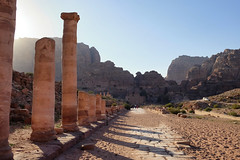 Street Colonnade in Petra. Wadi Musa, Jordan (varfolomeev) Tags: 2017 иордания jordan fujifilmxt10 mountains горы