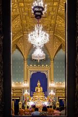Phra Buddha Angkiros in Phra Ubosot, Wat Ratchabophit (aey.somsawat) Tags: architecture bangkok buddhastatue buddhism buddhisttemple krungthep phrabuddhaangkiros temple thaiarchitecture thailand ubosot wat watratchabophit westernthaiarchitecture