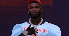 99 problems & Messages (BAILOUT BABY) Tags: designer model rare nyc ebony sl secondlife new vintage