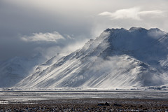 Blowing Snow, Stafafell (Sophie Carr Photography) Tags: stafafell blowingsnow windy southeasticeland iceland