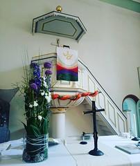 Konfirmation I heute um 13.30 Uhr in der Prot. Kirche Altrip. (alexebel) Tags: instagram iphone4