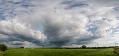 Stormy clouds (wlodiwlodi) Tags: summer poland sky cloud clouds fields field panorama niebo chmury polska dębica podkarpacie lato wiosna 2018 2019 canon 400d storm burza