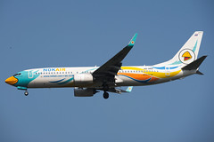 Nok Air Boeing 737-88L(WL) HS-DBZ Nok Napa Proud นกนภาพราว (EK056) Tags: nok air boeing 73788lwl hsdbz napa proud นกนภาพราว don muang airport bangkok