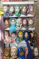 Foulards (hubertguyon) Tags: iran perse persia asie asia moyen proche orient middle east kerman ville city bazar bazaar marché market