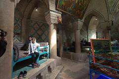 Fillette (hubertguyon) Tags: iran perse persia asie asia moyen proche orient middle east kerman ville city hammam restaurant