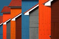 Reitdiep Haven (HWHawerkamp) Tags: rustic wood paneling wooden worn reitdiephaven groningen facade architecture buildings harbour travel colours abstract graphics hawerkamp