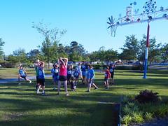 P5091417 (photos-by-sherm) Tags: 5k run runs mile cameron art museum wilmington nc north carolina spring fundraiser crowds children runners