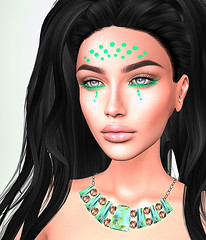 LuceMia - ALMA Makeup (2018 SAFAS AWARD WINNER - Favorite Blogger -) Tags: almamakeup vanityevent event exclusive makeup tribal photowalk people person woman color coulor sl secondlife mesh fashion creations blog beauty hud colors models lucemia