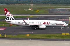 AMC Aviation - Boeing 737-86Q(WL), SU-BSA (Bernd 2011) Tags: amcaviation amc boeing boeing73786qwl 737 738 73786q subsa dus eddl taxiing canon powershot sx50hs